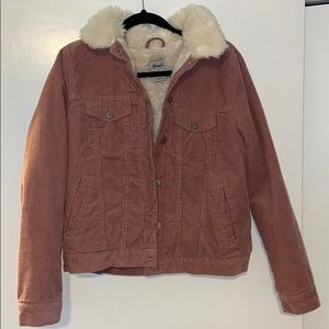 Pink Cordoroi Jacket